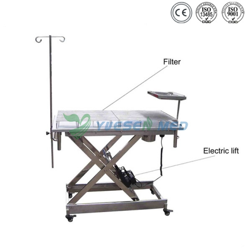 V-shaped Veterinary Operation Table YSVET0506