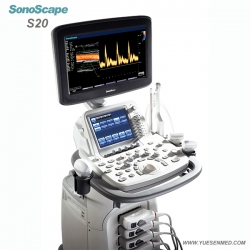SonoScape S20 Trolley Color Dopper Ultrasound