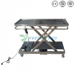 Electric Stainless Steel Veterinary Operation Table YSVET106