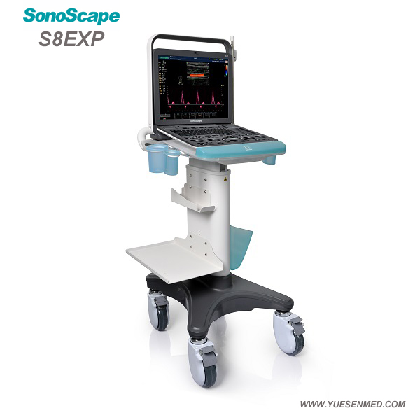 SonoScape S8 EXP Color Ultrasound Scanner