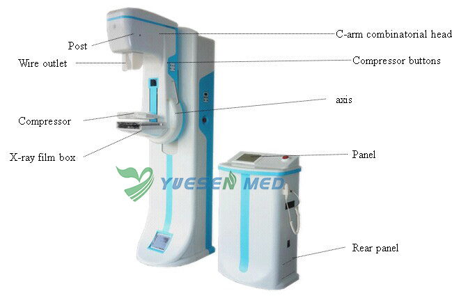 High Frequency Mammography X-ray Machine
